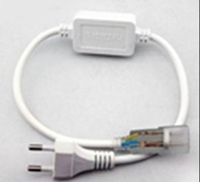 LED Neon Flex Power Cord Set