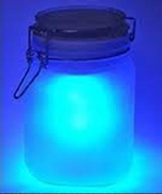 Solar Powered Jars RGB