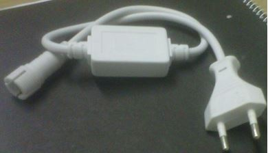 LED Power cord and Converter for Rope Light