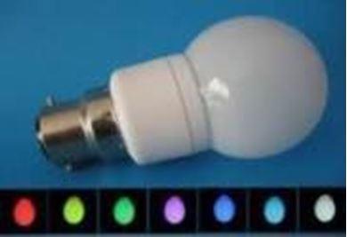 LED Colour Changing Bulb 1W